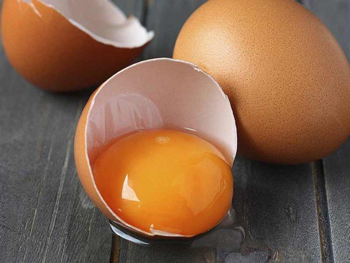 Разбитое куриное яйцо
