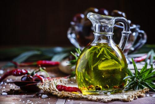 Оливковое и ароматическое масло
