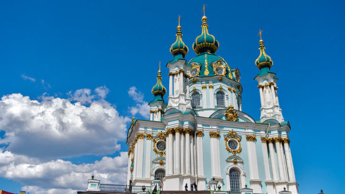Бело-голубая церковь