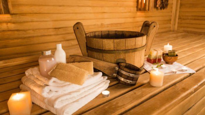Мыло, полотенца, мочалки и другие банные принадлежности