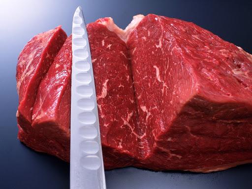 Нарезка сырого мяса