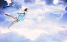 Полет в ночном небе
