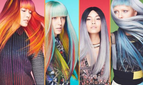Варианты окрашивания волос