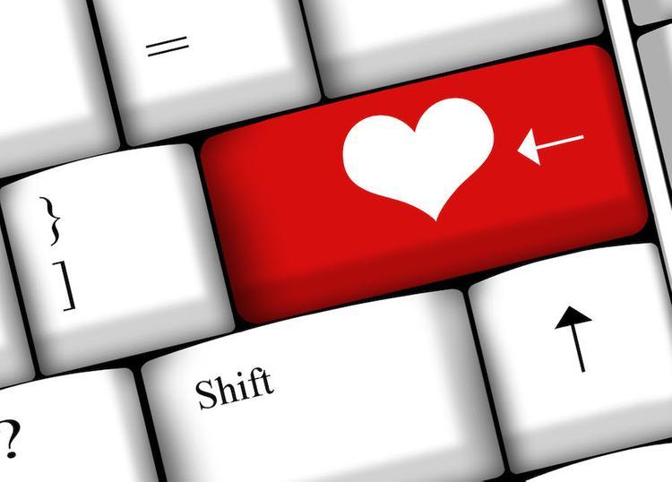 Сердечко на клавише Enter