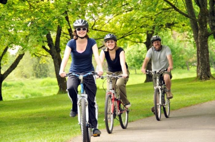 поездки на велосипеде