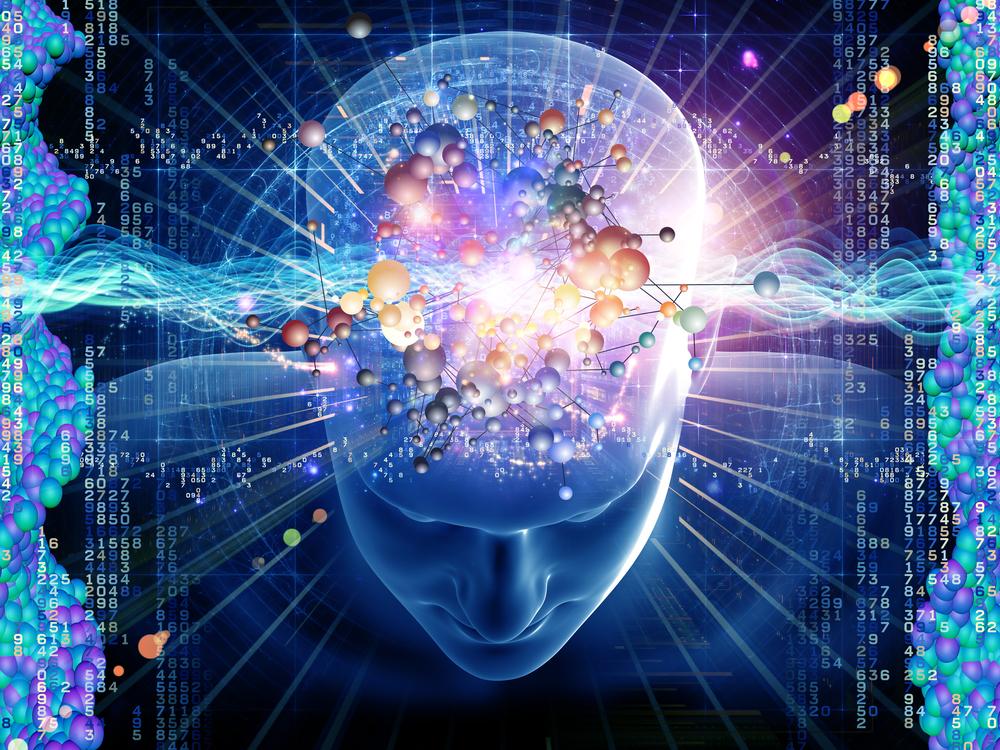 Визуальные эффекты с яркой геометрией при изменении сознания