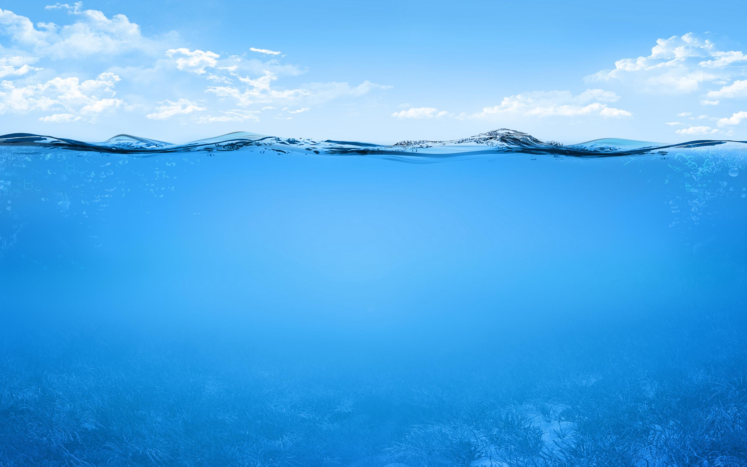 Под и над водой